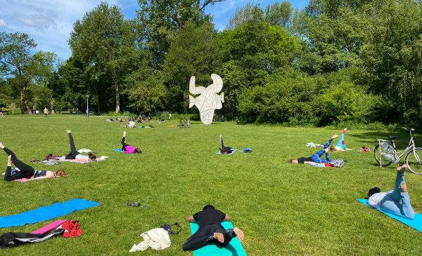 Vondelpark yoga